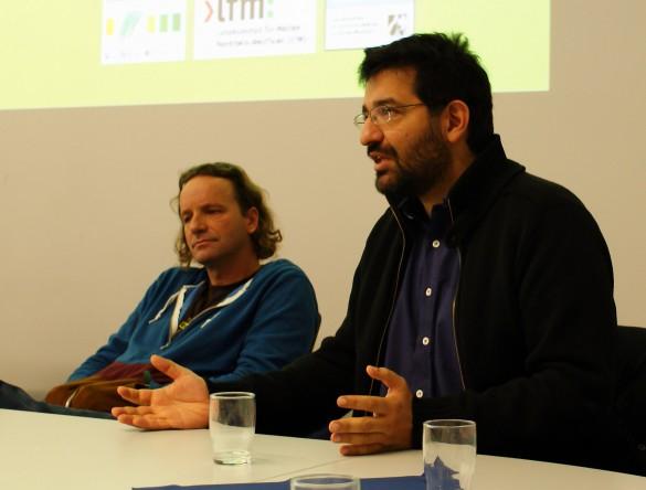 Die Regisseure Marc Wiese und Ali Samadi Ahadi