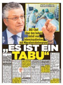 Abbildung: Bild-Zeitung 3. März 2021