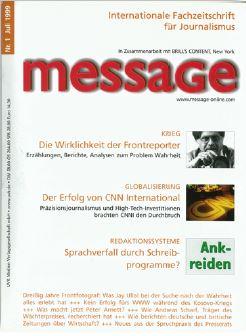 Die erste Ausgabe von 1999
