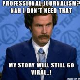 Hat Ron Burgundy Recht? Nicht ganz! Qualität wird von jungen Mediennutzern geschätzt - aber selten nachgefragt.
