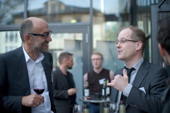 Wenn Journalisten über Journalisten schreiben – und reden: Peter-Matthias Gaede, Chef der »GEO«-Gruppe und Message-Beirat …