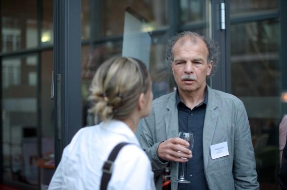 … und Philipp Cueni, Chefredaktor des Schweizer Fachmagazins »Edito« …