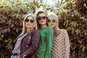 Portraitieren im Netz starke weibliche Persönlichkeiten: Anna Weilberg, Katharina Charpian und Lisa van Houtem von Femtastics. Foto: Janna Tode