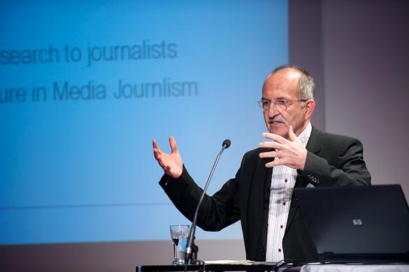 Anschließend stellt Stephan Ruß-Mohl das in Lugano gegründete European Journalism Observatory vor und diskutiert …