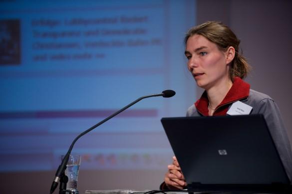 Können NGO-Medienbeobachter die Abhängigkeiten und Tabu-Zonen vieler Medien treffender aufdecken als Medienjournalisten?  Heidi Klein von »Lobby-Control« und  …