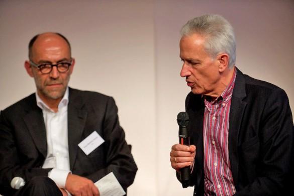 Schlussrunde: Was lernen wir für die praktische Medienforschung am IPJ und was für die Medienzeitschrift »Message« aus dieser Bestandsaufnahme? Die Message-Beiräte Peter-Matthias Gaede und Michael Haller,