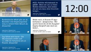 Mauerfall auf Twitter, tagesschau.de