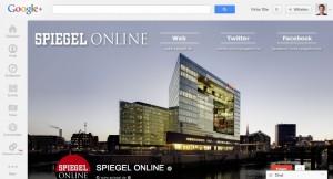 Der Spiegel auf Google Plus