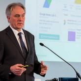 Volker Lilienthal beim lpr-forum in Frankfurt